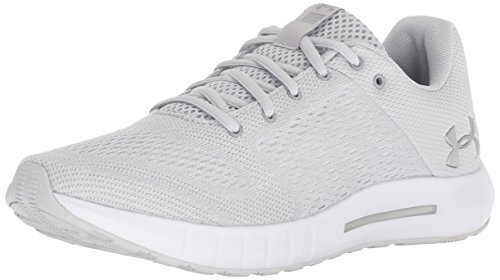 buy online bedc0 ac63f Under Armour UA W Micro G Pursuit, Scarpe Running Donna, Grigio (Elemental