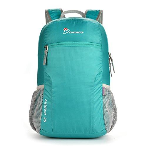MOUNTAINTOP 25L Faltbarer Rucksack für Männer, Frauen und Kinder - als Reiserucksack,Tagesrucksack,Handgepäck