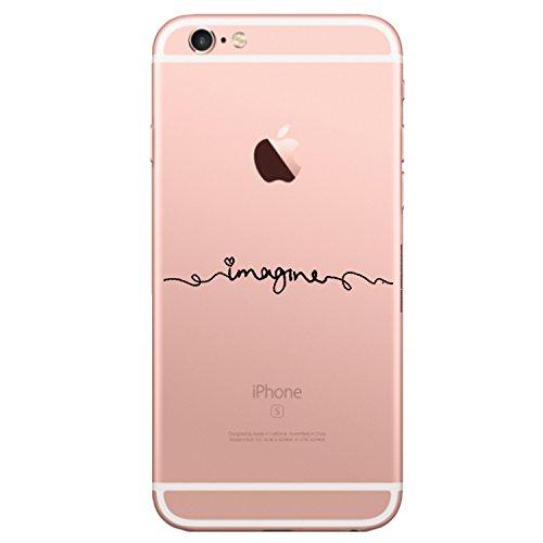 Qissy® Carcasa iPhone 6 / 6s ,iPhone 6s Funda / iPhone 6 Funda Soft Gel TPU Silicone Case Cover Carcasa Para for 4.7 inch iPhone 6 / 6S (26)