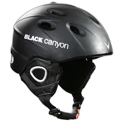 Black Canyon Skihelm Zermatt S, matt black