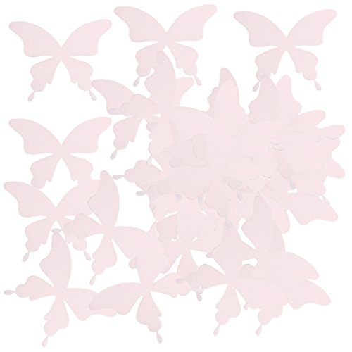 MagiDeal 100pcs Blütenkirsche/Schmetterling Dekoration Blüten Blumen Hochzeit Streudeko Konfetti -...