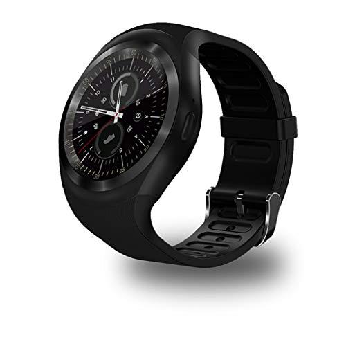 VINSEW Bracelet Intelligent Montre Intelligente pour Android/iOS Montres intelligentes avec Moniteur de fréquence Cardiaque avec Fonction de téléphone Portable avec Carte SIM, Carte TF et Smartwat