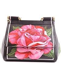 Dolce E Gabbana Mujer MCBI099379O Multicolor Cuero Bolso De Mano