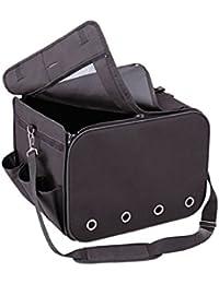 Nobby 76217transporte de coche para mascota 40x 30x 30cm), color negro