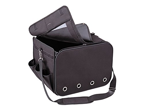 Artikelbild: Nobby 76217 Reise-Tasche für kleine Hunde oder Katzen für Autositz L x B x H: 40 x 30 x 30 cm, schwarz
