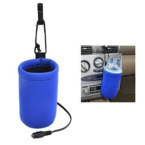 Seasaleshop Auto Baby Flaschenwärmer/Warmhalteboxen / Autoflaschenwärmer Portable Babyflasche Milch Schnellheizung Konstante Temperatur Wärmt