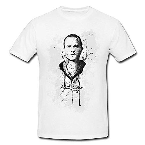 Heath-Ledger T-Shirt Frauen, Mädchen mit stylischen Motiv von Paul Sinus