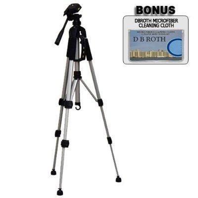 Deluxe 144,8cm Kamera Stativ mit Tragetasche für die Canon FS200, FS100, FS22, FS21, FS11, FS10Flash Memory Camcorder
