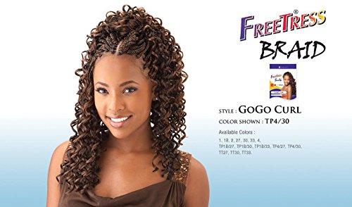 Cheveux Synthétiques Tresses perruque GoGo Curl