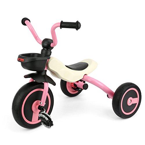 GOSFUN Triciclo con Función Plegable para Niños de 2 - 5 Años, Triciclo...