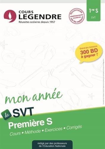 SVT 1re S : Cours, méthode, exercices, corrigés par (Broché - Apr 13, 2017)