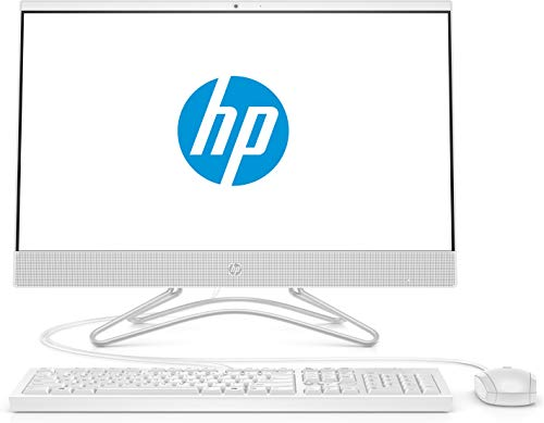 HP 24-f0792ng 60,45 cm (23,8 Zoll Full HD) All in One Desktop-PC (Intel Core i3-8130U, 8GB DDR4 RAM, 1TB HDD, 128GB SSD, Intel UHD Grafik 620, DVD-Writer, Windows 10 Home) weiß