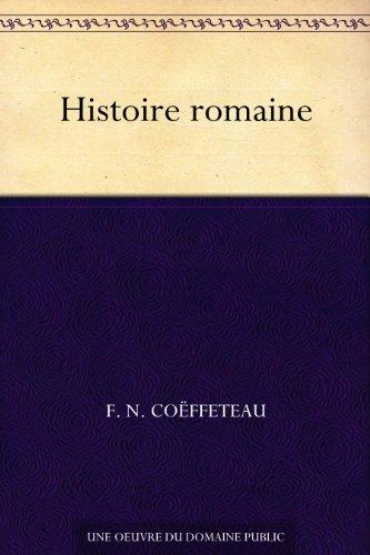 Couverture du livre Histoire romaine