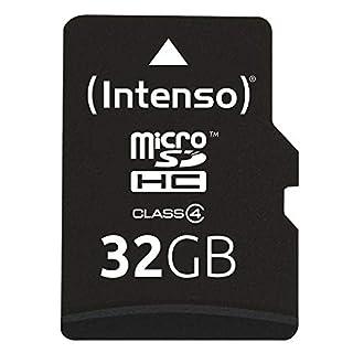 Intenso Micro SDHC 32GB Class 4 Speicherkarte inkl. SD-Adapter