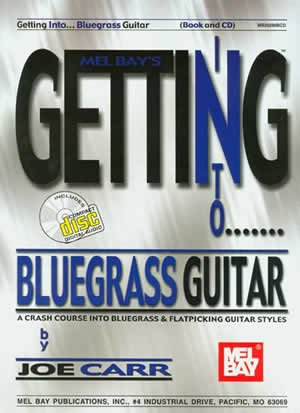 Getting Into Bluegrass Guitar Book/CD Set
