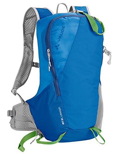 VAUDE Mochila Updraft LW, Brilliant Blue, 48x 29x 19cm, 18litros, 12362
