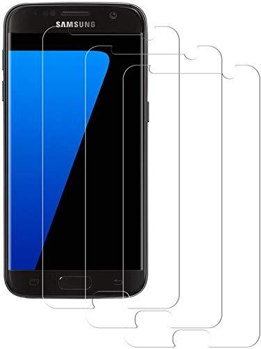 Snnisttek Samsung Galaxy S7 Panzerglas Schutzfolie [3 Stück], Displayschutzfolie für Samsung Galaxy S7, Ultra-HD, 9H Härte, Anti-Fingerabdrücke und Öl Panzerglas für Samsung Galaxy S7