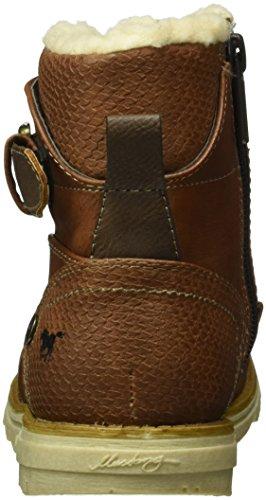Mustang Unisex-Kinder 5017-619 Kurzschaft Stiefel Braun (301 kastanie)