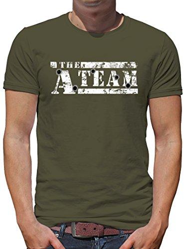 TShirt-People The A-Team Logo Bullit T-Shirt Herren XL Khaki -