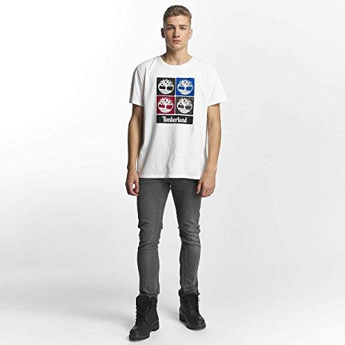 Timberland Uomo Maglieria/T-Shirt 90'S Logo Bianco