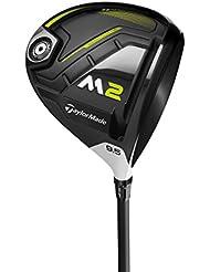 TaylorMade M2 + D-Type Drivers de Golf, Hombre, Negro, 10.5