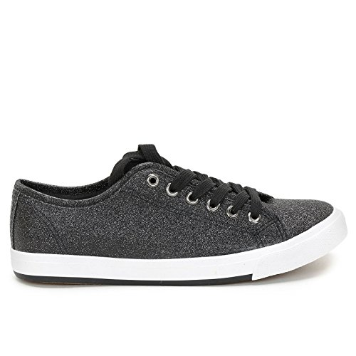 Prendimi By Scarpe&scarpe - Glitzer-sneaker Schwarz