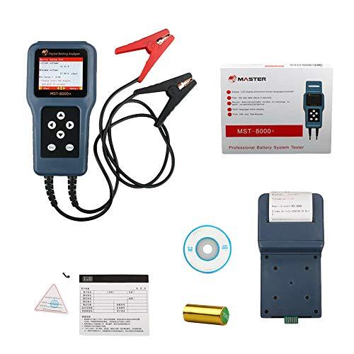 Cikuso 12V 24V Mst-8000 + Auto Digital Batterie Analysator Batterie Tester Mit Drucker