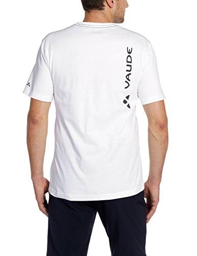 VAUDE Herren T Shirt  Brand Weiss