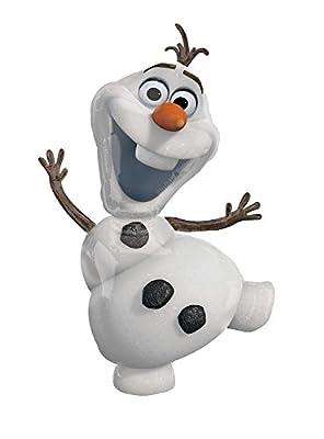 Frozen- Fiesta Cumpleaños Globos Olaf, 58 x 104 cm (Anagram 2831601) de Anagram