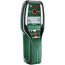 Bosch Detector digital PMD 10 (1batería 9 V, bolsa, profundidad de detección maxima: acero 100 mm, cobre 80 mm, corriente eléctrica 50 mm, madera 25 mm)