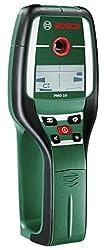 Bosch digitales Ortungsgerät PMD 10 (max. Messtiefe Stahl/Kupfer/Stromleitung/Holz: 100/80/50/25 mm, in Tasche)