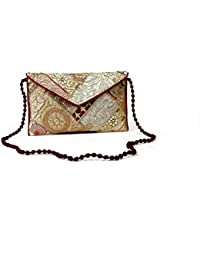 Homeart9 Women's Sling Bag (Embridered Handicraft Traditional Sling Bag,Multi-Coloured) - B077HMR8R2