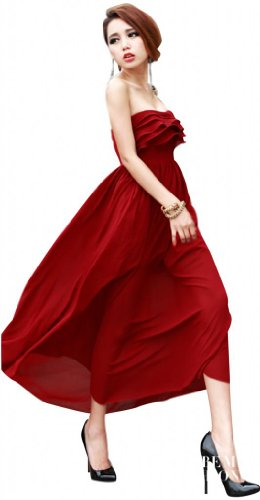 sexylady - Robe -  Femme Rouge - Rouge