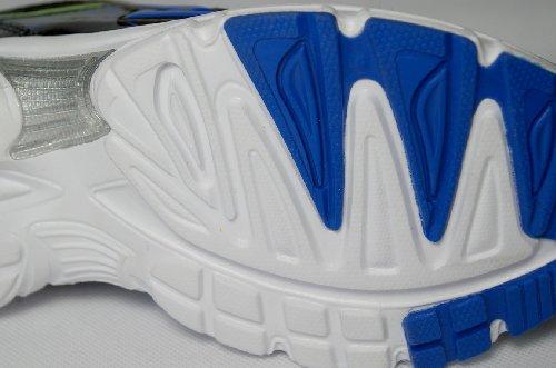 Damen Sportschuhe, sehr leicht und bequem, schwarz glänzend, Gr. 36-41 schwarz/neongrün/blau