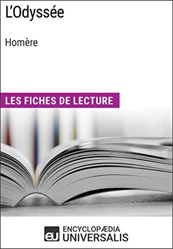 Lire un L'Odyssée d'Homère: Les Fiches de lecture d'Universalis pdf, epub