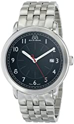 88 Rue du Rhone Mens 86CA120015 Analog Display Swiss Quartz Silver Watch