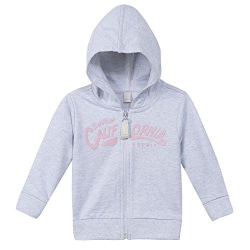 Esprit Kids Baby-Mädchen Sweatshirt Sweat Shirt, Grau (Pastelgrau 050), 80