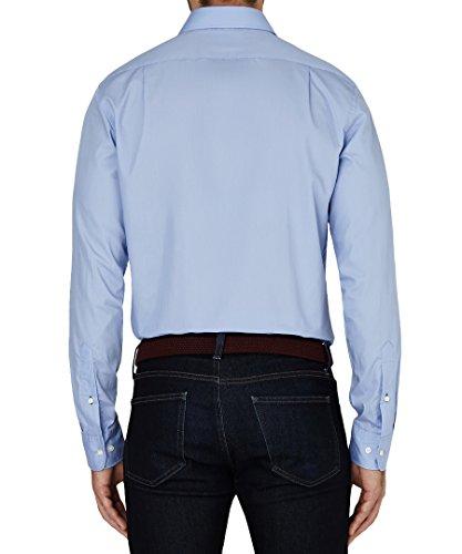 Tommy Hilfiger -  Camicia classiche  - Basic - Classico  - Uomo Perriwinkle (Sky)