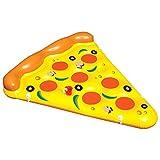 SHUCHANGLE Super Adultos Agua Flotantes Inflables Pizza Cama Flotante...