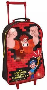 Disney Wreck-It Ralph Wheeled Trolley Bag Kids Luggage