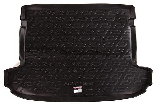 SIXTOL Auto Kofferraumschutz für den Hyundai Tucson III - Maßgeschneiderte antirutsch Kofferraumwanne für den sicheren Transport von Einkauf, Gepäck und Haustier