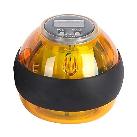 Rebuty Adulte Multifonction Gyroscopique Poignet Avant-bras Exerciseur Exercice à la main Power Force Fitness Ball
