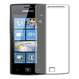 6 x Protection écran pour Samsung GT-i8350 Omnia W - Anti-rayures Display Protective Film