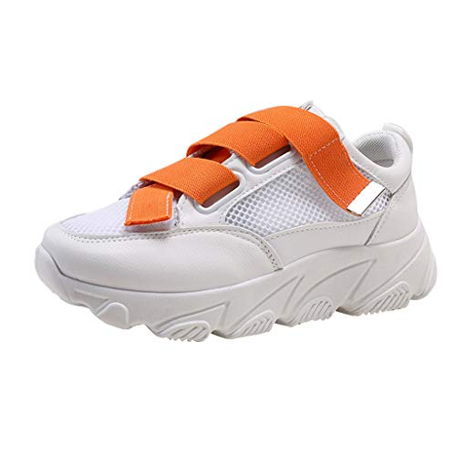 ZYUEER Damen Schuhe Mode Frauen Sommer Freizeitschuhe Atmungsaktives Mesh Armband mit Turnschuheaus Wildleder Laufschuhe - Bestickte Wildleder Baby-stiefel