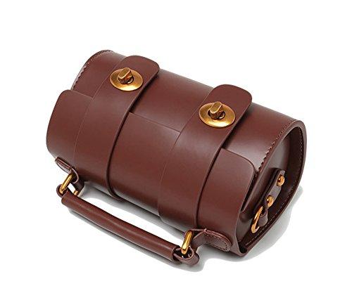 Xinmaoyuan Borse donna vacchetta spillone Mini borsa tracolla retrò Sacchetto a cuscino,arancione Arancione