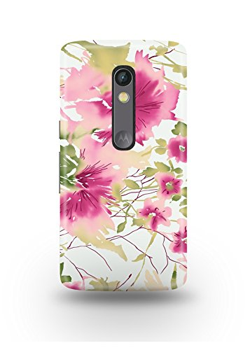 Moto X Play Cover,Moto X Play Case,Moto X Play Back Cover,Romantic Floral Pattern Moto X Play Mobile Cover By The Shopmetro-12401