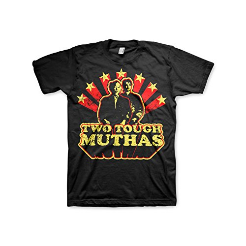 Officially Licensed Merchandise Karate Kid Two Tough Muthas T-Shirt (Black), XX-Large