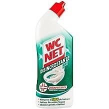 WC Net – Gel desincrustante WC Net - Elimina 100% la cal - Limpia debajo