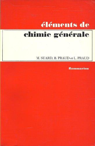 Eléments de chimie générale