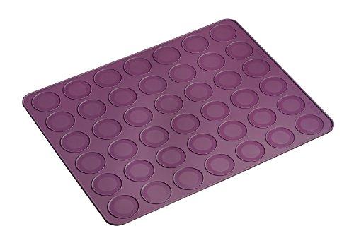 lurch-85020-stampo-biscotti-macarons-38-x-30-cm-colore-viola